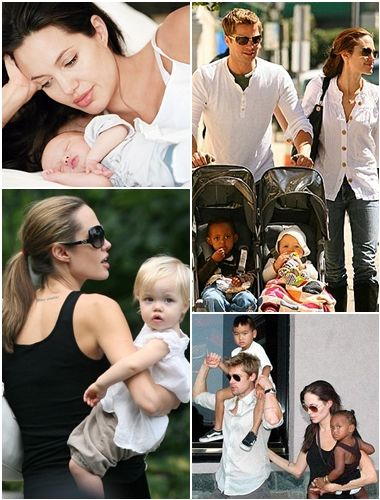Angelina Jolie Family